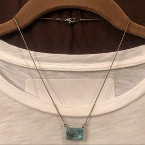 Jewelry - Blue Pendant Necklace